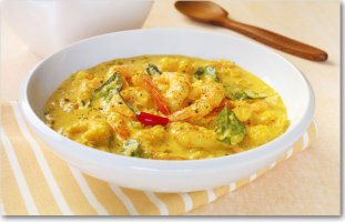 Curried Shrimp Barijah